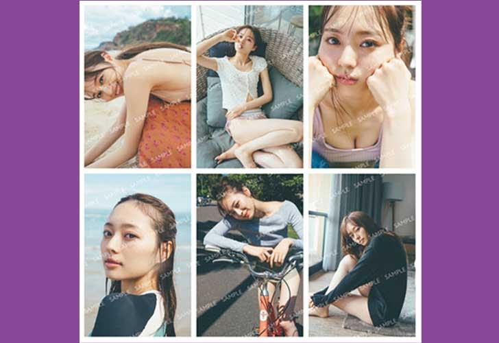 梅澤美波写真集・メッセージ入りポストカード